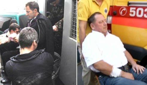 """Милиция вывезла главу """"Нафтогаза"""" Бакулина из офиса в инвалидной коляске - Цензор.НЕТ 1499"""