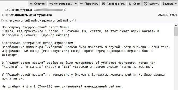 Редактори «Інтера» та телеканалу «Донбас» звітували перед органами держбезпеки «ДНР»?