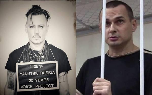 Джоні Депп приєднався до міжнародної кампанії проти ув язнення митців - за  звільнення Сенцова (ФОТО) (2.06 12) 250ea48218ebd