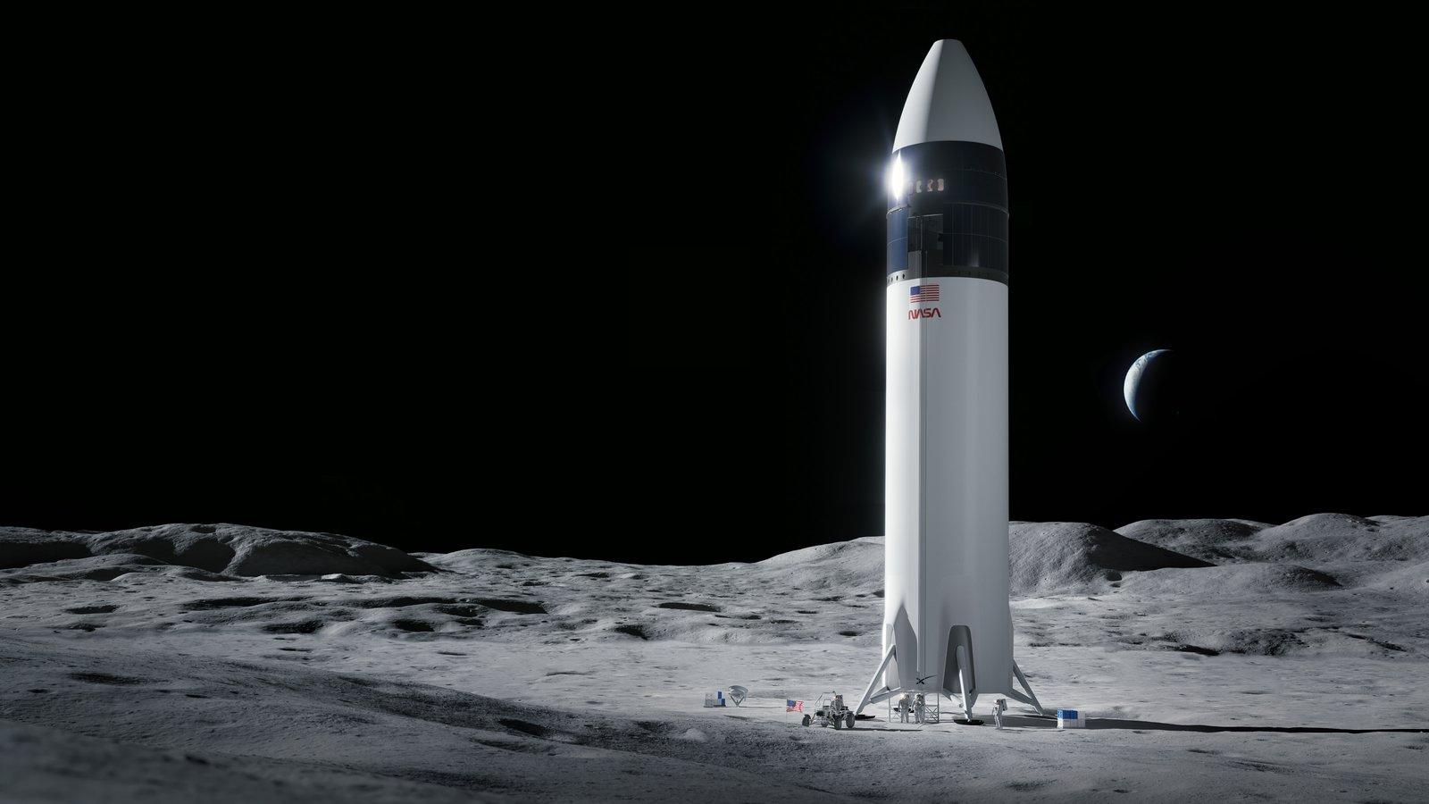 Космічний корабель Ілона Маска поверне американців на Місяць