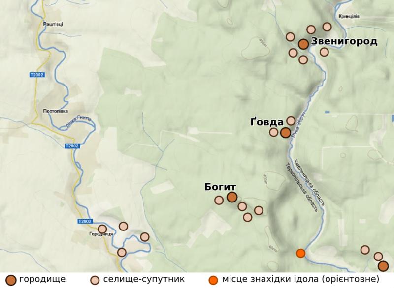 Карта-схема: Борис Явір
